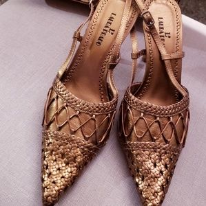 Shoes and purse set